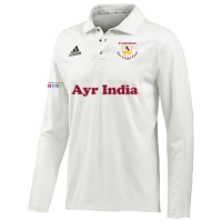 Ayr CC Long Sleeve Playing  Shirt SNR