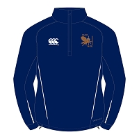 Bristol Aeroplane Company RFC Team 1/4 Zip Mid Layer Training Top