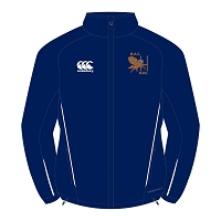 Bristol Aeroplane Company RFC Team Full Zip Rain Jacket Navy