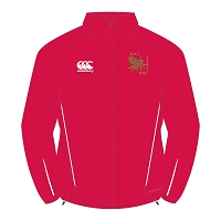 Bristol Aeroplane Company RFC Team Full Zip Rain Jacket Red