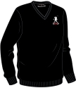 Balfron Golf Society V-Neck Lambswool Sweater (3 colours)