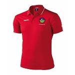 Ballachulish Shinty Club Draco Polo Red/White