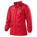 Ballachulish Shinty Club Terranova Full Zip Jacket Red