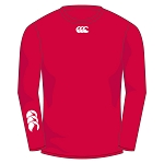 Biggar RFC Baselayer Cold Long Sleeve Top Flag Red Senior