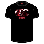 Biggar RFC Team CCC Logo T-Shirt Black Senior
