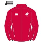 Biggar RFC Team Full Zip Rain Jacket Flag Red/White Junior