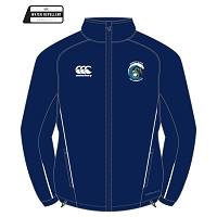 Brighton & Hove Sea Serpents Team Full Zip Rain Jacket Navy