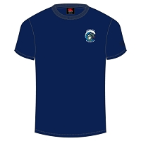 Brighton & Hove Sea Serpents Team Plain Tee Navy