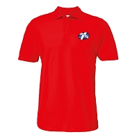Caledonian Thebans RFC Polo Red