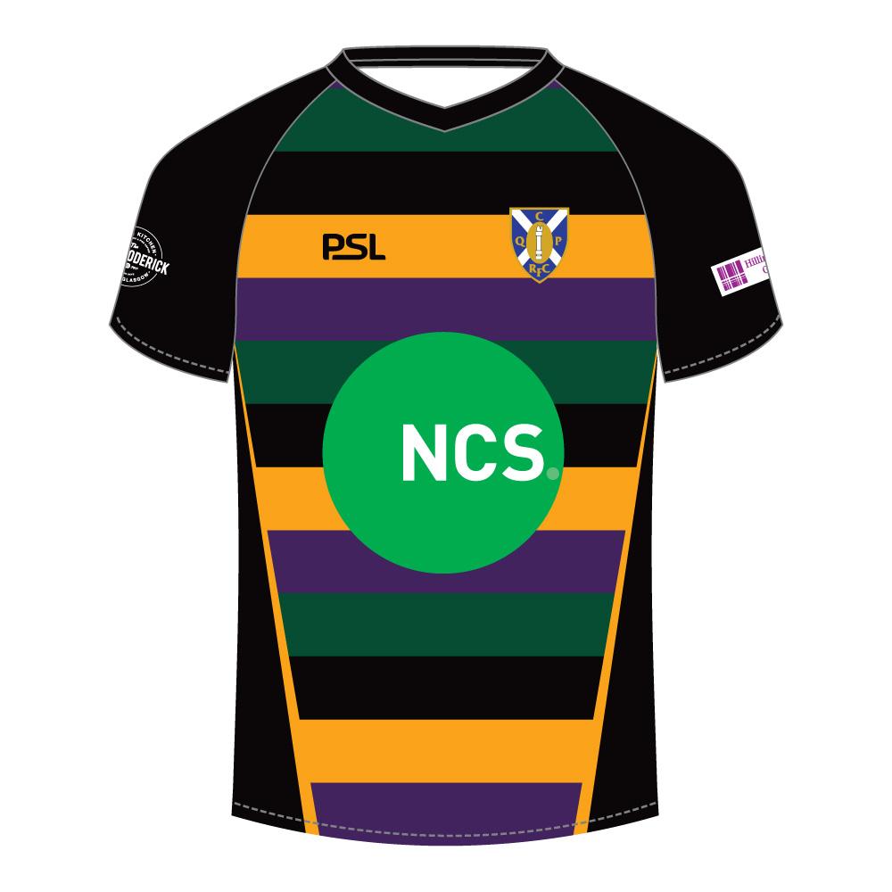 Glasgow Warriors Home Games 2019: Cartha QP Sublimated Lightweight T-Shirt