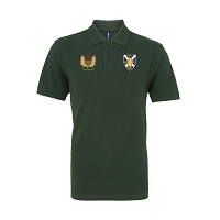 Cartha QP Senior Men's Polo Green