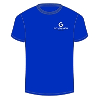 City of Glasgow Swim Team - Junior Dry T-Shirt (Royal)