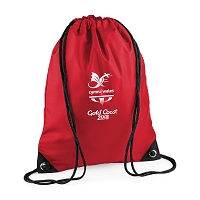 CGW Team Drawstring Bag Red