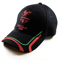 CGW Baseball Cap Black/Red