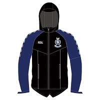 Dalziel RFC Senior Performance Rain Jacket - Black/Royal