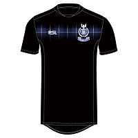Dalziel RFC Pro Evolution Training T-Shirt - Black/Tartan