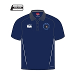 Drumpellier CC Team Dry Polo Adults Navy