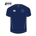 Drumpellier CC Team Dry Tee Adults Navy