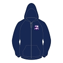 Dunedin Netball Club - Zipped Hoody (Ladies)