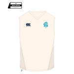 Edinburgh Accies Cricket Club Cricket Overshirt Cream