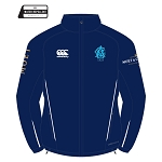 Edinburgh Accies Cricket Club Team Full Zip Rain Jacket Navy