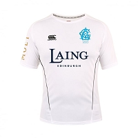Edinburgh Accies Cricket Club - Team Dry T-Shirt White