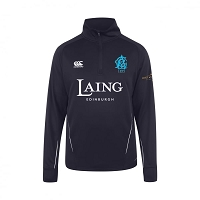 Edinburgh Accies Cricket Club - Team Mid Layer Training Top Navy