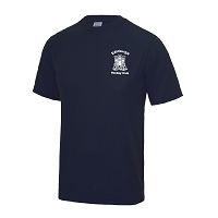 Edinburgh Hockey Club Cool T-Shirt Navy Junior