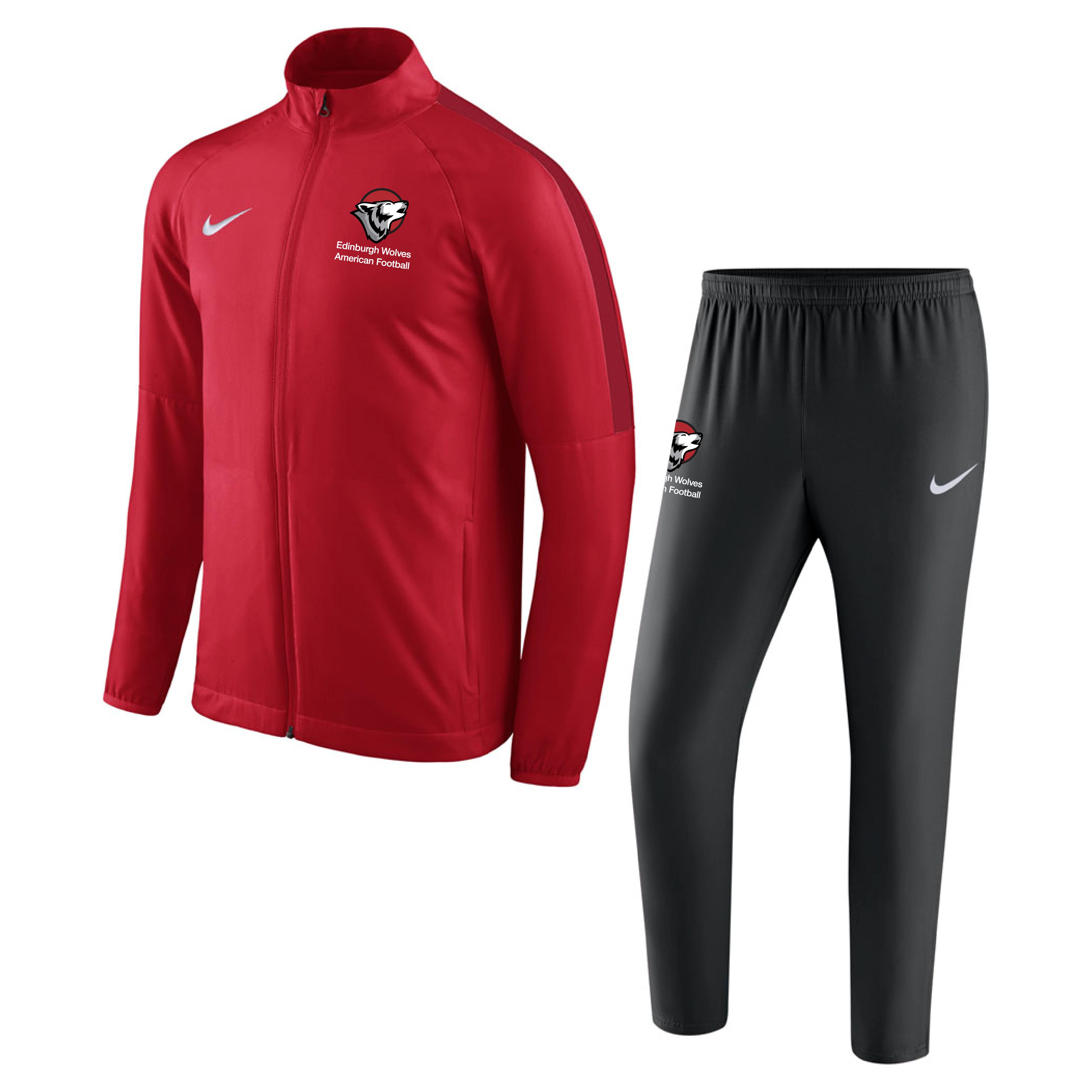 3913aa895f Edinburgh Wolves American Football Nike Academy 18 Woven Track ...