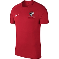Edinburgh Wolves American Football Nike Academy 18 Training Top - University Red/Gym Red/(White)