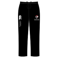Edinburgh Wolves American Football Open Hem Stadium Pant - Black