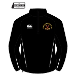 Eskvale Hockey Club Team 1/4 Zip Micro Fleece Black Youth