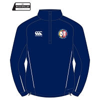 ESM Hockey Club Team Quarter Zip Mid Layer Navy Adults