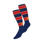 ESM Hockey Club 2 Sized Stripe Junior Socks