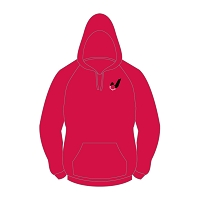 Fjordhus Reivers Hoody - Red