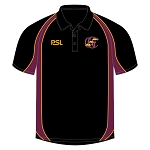 Galloway Cricket Club PSL Polo Shirt Black Jnr