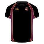 Galloway Cricket Club PSL T-Shirt Black Jnr
