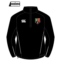 GHA RFC Team Quarter Zip Micro Fleece - Black