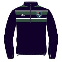GHK Rugby Junior Pro Evolution Quarter Zip Midlayer