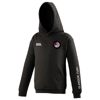 Glasgow Fury Netball Club Junior Hoodie - Black