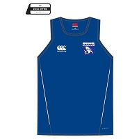 Glasgow Sharks Team Singlet Royal/White