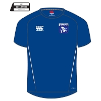 Glasgow Sharks Team Dry T-Shirt Royal/White