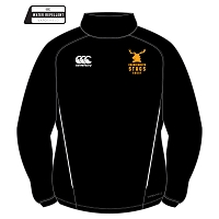 Grangemouth Stags Rugby Team Contact Top - Black/White