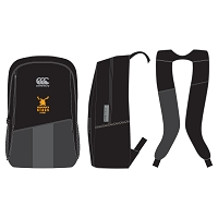 Grangemouth Stags Rugby Vaposhield Training Backpack - Black