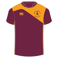Harris Academy FP Hockey Club Home Match Jersey - Maroon/Gold
