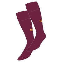 Harris Academy FP Hockey Club Plain Sock - Maroon