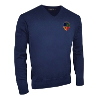 Hillhead Jordanhill Club Supporters Lambswool  V-Neck