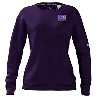 Old Style Inverleith Hockey Ladies Crew Sweatshirt Purple