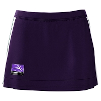 Inverleith Hockey Girls Purple/White Home Skort