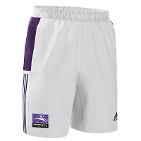 Inverleith Hockey Club Men's Away Short - White/Collegiate Purple